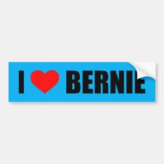 """""""I LOVE BERNIE"""" BUMPER STICKER"""
