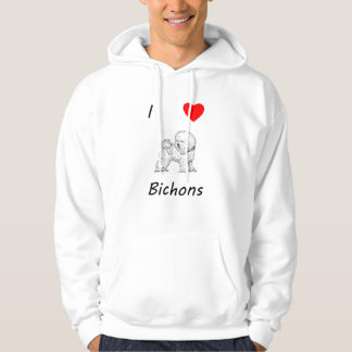 I Love Bichons Hoodie