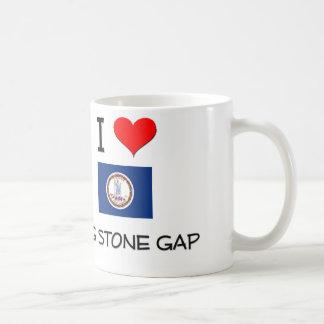 I Love Big Stone Gap Virginia Basic White Mug