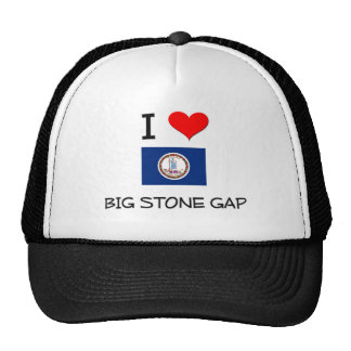 I Love Big Stone Gap Virginia Hat