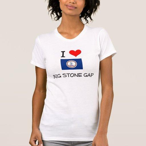 I Love Big Stone Gap Virginia Tee Shirt