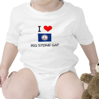 I Love Big Stone Gap Virginia Bodysuits