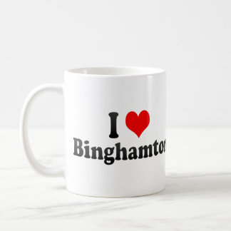 I Love Binghamton, United States Coffee Mug