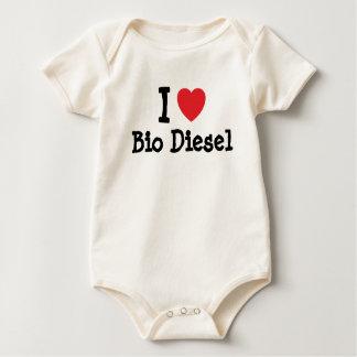 I love Bio Diesel heart custom personalized Bodysuit