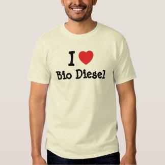 I love Bio Diesel heart custom personalized Shirts