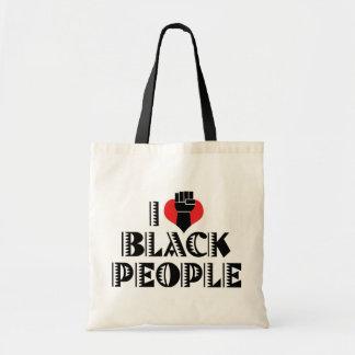 I Love Black People Bags