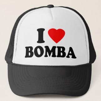 I Love Bomba Trucker Hat