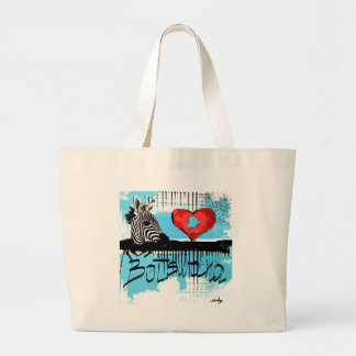 I love Botswana Large Tote Bag