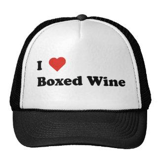 I Love Boxed Wine Cap