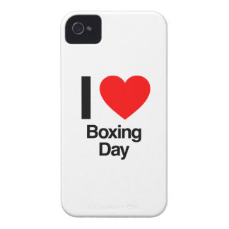 i love boxing day Case-Mate iPhone 4 cases