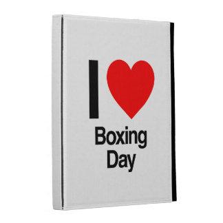 i love boxing day iPad case