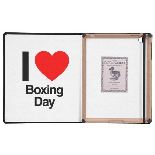 i love boxing day iPad folio cases
