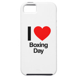 i love boxing day tough iPhone 5 case