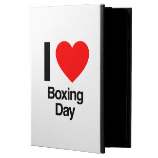i love boxing day iPad air covers