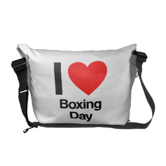 i love boxing day courier bag
