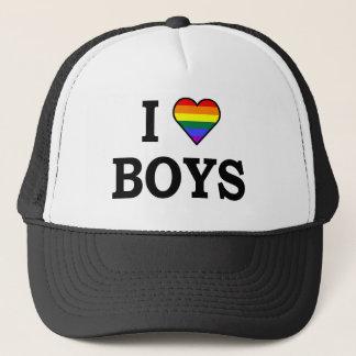 I Love boys Trucker Hat