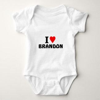 I love Brandon Baby Bodysuit