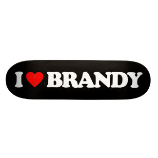 I LOVE BRANDY 19.7 CM SKATEBOARD DECK