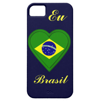 I love Brazil - Eu amo Brasil - in Portugese Barely There iPhone 5 Case