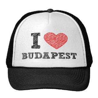 I Love Budapest Cap