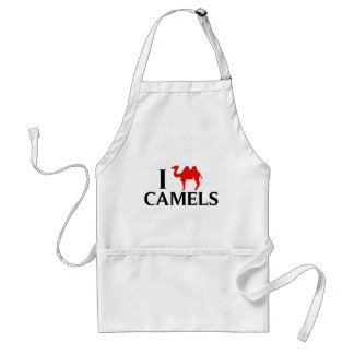 I Love Camels Standard Apron
