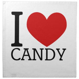 I Love Candy Napkins