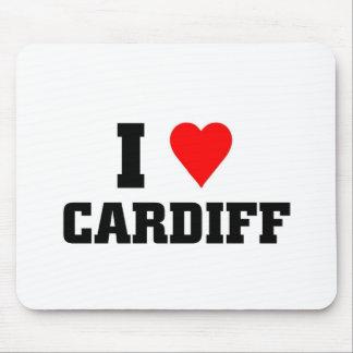 I love Cardiff Mouse Pad