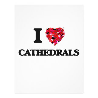 I love Cathedrals 21.5 Cm X 28 Cm Flyer