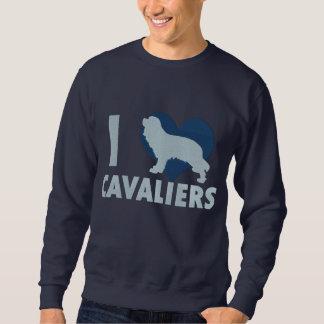 I Love Cavaliers Embroidered Shirt (Sweatshirt)