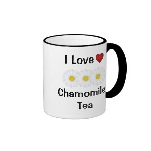 I Love Chamomile Tea  Cup & Customizable Mug
