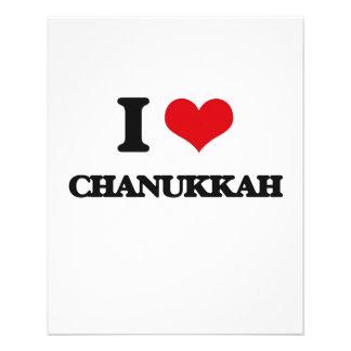 I love Chanukkah Flyers