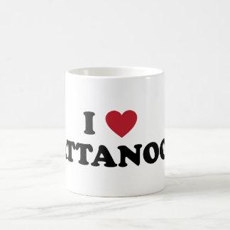 I Love Chattanooga, Tennessee Basic White Mug