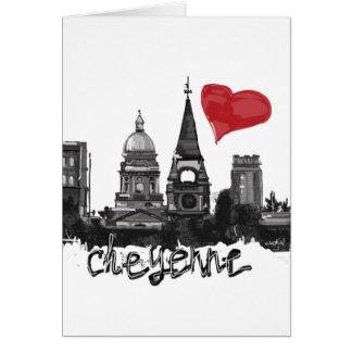 I love Cheyenne Card