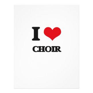 I love Choir Flyer