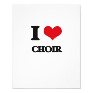 I love Choir Full Color Flyer