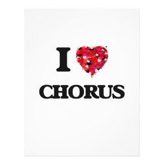 I love Chorus 21.5 Cm X 28 Cm Flyer