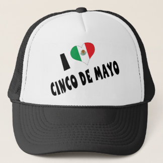 I Love Cinco de Mayo Trucker Hat