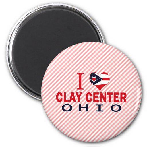 I love Clay Center, Ohio Magnet