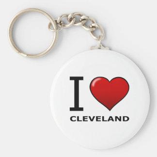 I LOVE CLEVELAND, OH - OHIO KEY RING