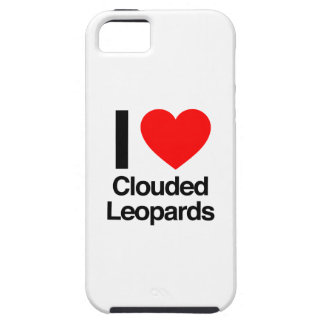 i love clouded leopards iPhone 5 case