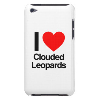 i love clouded leopards iPod touch Case-Mate case