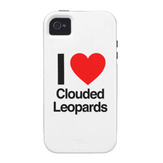 i love clouded leopards vibe iPhone 4 cases