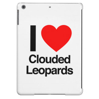 i love clouded leopards cover for iPad air