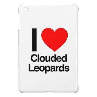 i love clouded leopards iPad mini case