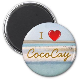 I Love CocoCay 6 Cm Round Magnet