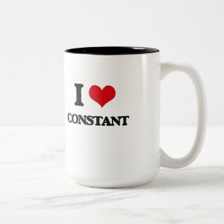 I love Constant Two-Tone Mug