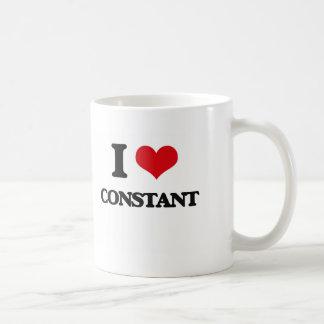 I love Constant Basic White Mug