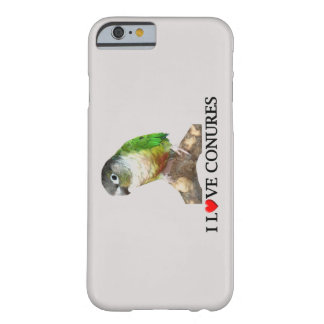 I Love Conures Barely There iPhone 6 Case