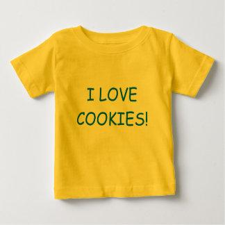 I LOVE COOKIES! SHIRTS