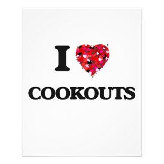 I love Cookouts 11.5 Cm X 14 Cm Flyer